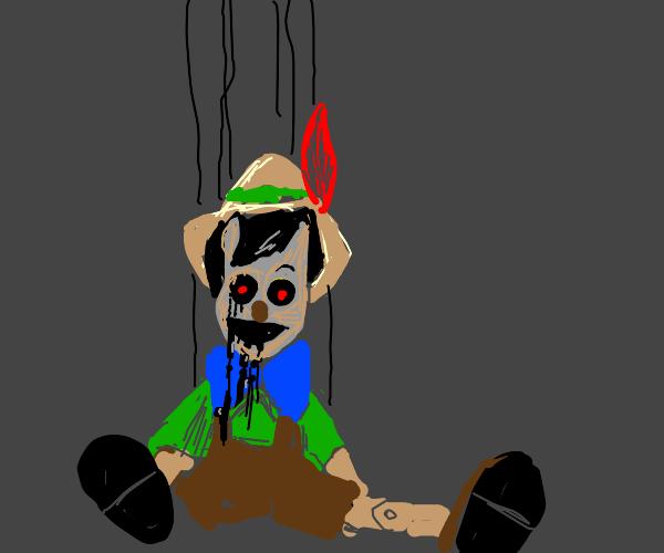 Nightmarish Pinocchio