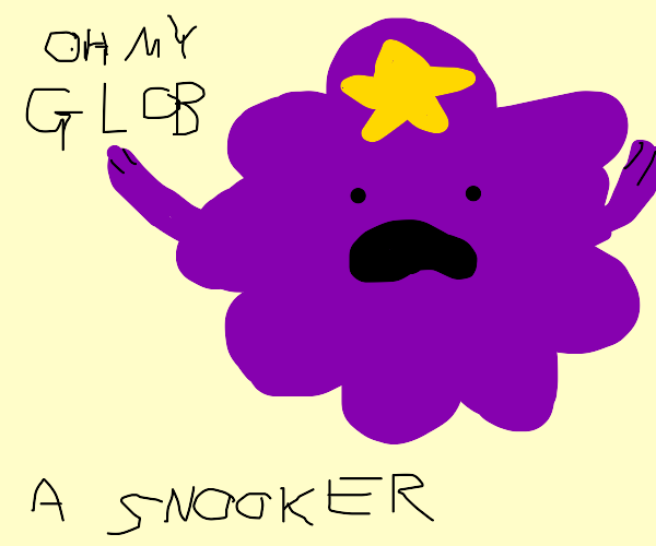 lumpy space princess screaming about snooker