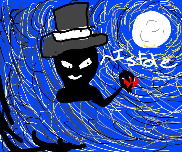 Thief wearing a Top Hat