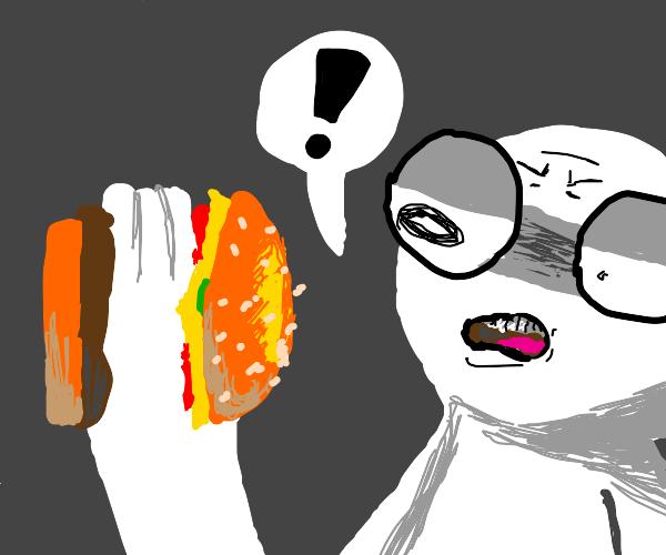 Hand-Burger