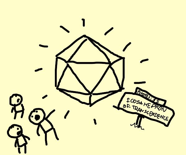 Icosahedron of Transcendence