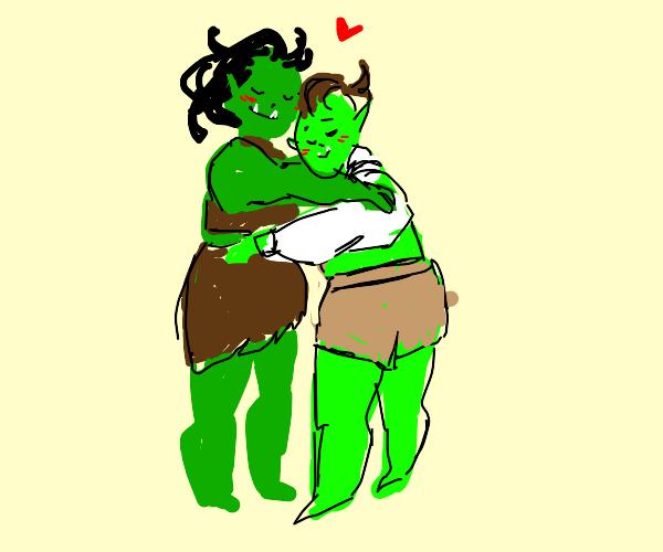 Orc Hugging