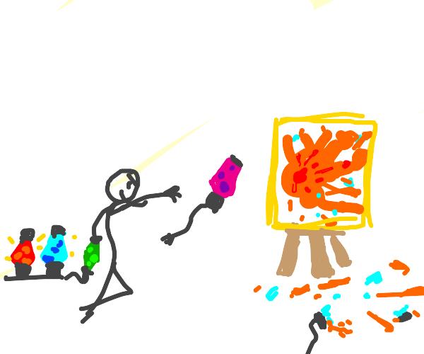 Lava Lamp Painting