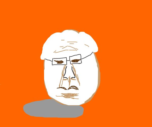 Bernie Sanders egg
