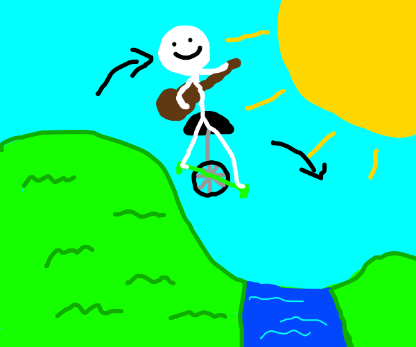 Ultimate Unicycle Jump