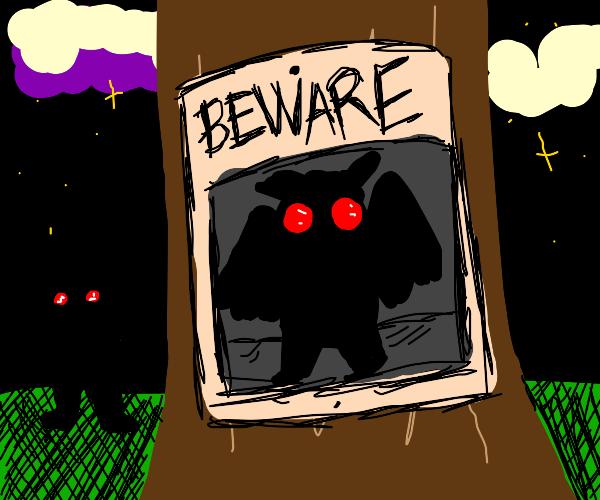 Beware the Mothman!
