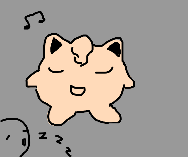 Pokémon sings people to sleep