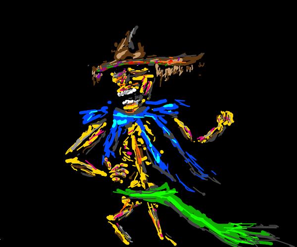 Roblox noob with a sombrero backfrom dead