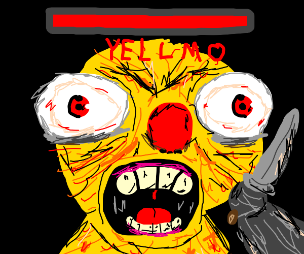 Mad Yellow man is the Final Boss