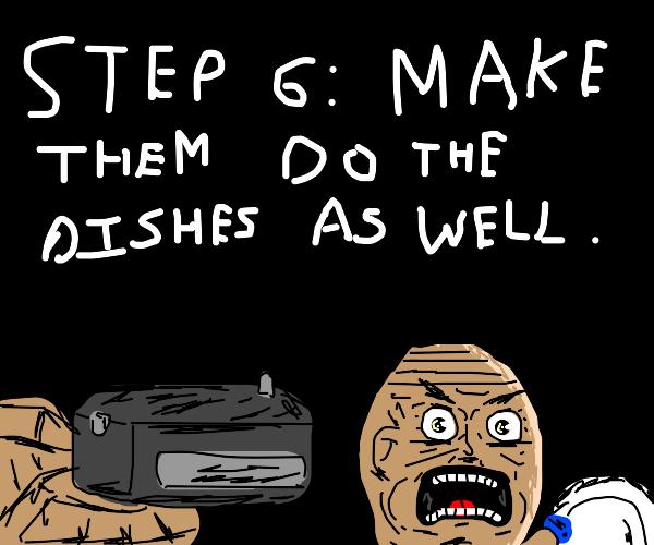Step 5: Make everyone eat their awful cooking