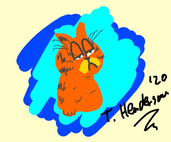 Cartoon Cat By Trevor Henderson Drawception