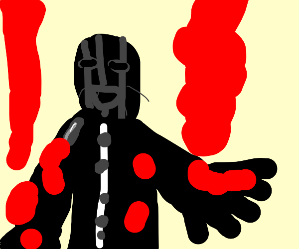 Masked Magician Man w/ a lot of red