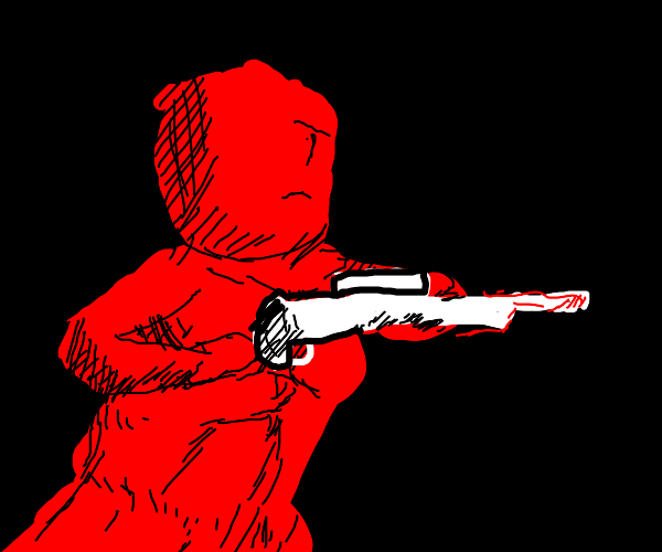 red dude with kick ass sniper