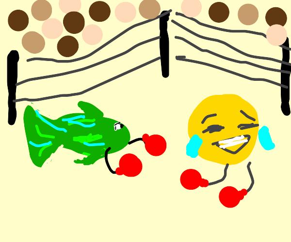 Fish vs Emoji