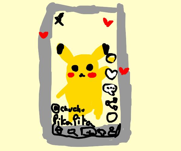 pokemon becomes a tiktok star