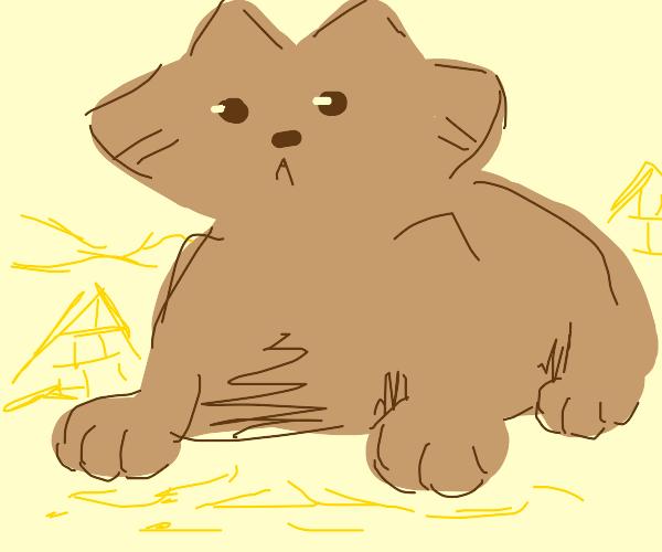 Egyption cat statue