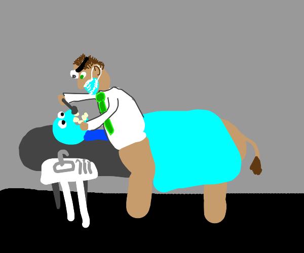 Dentist Centaur with