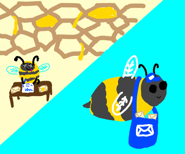 writing a Bee-mail