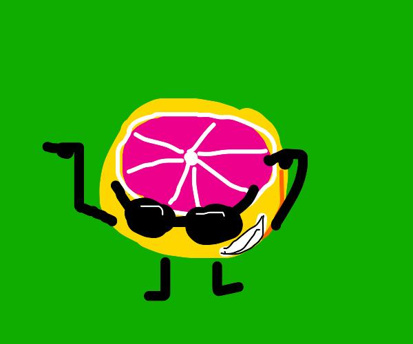 One Cool Grapefruit