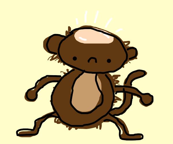 Balding monkey