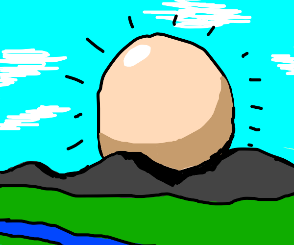 Egg the size of a Mountain