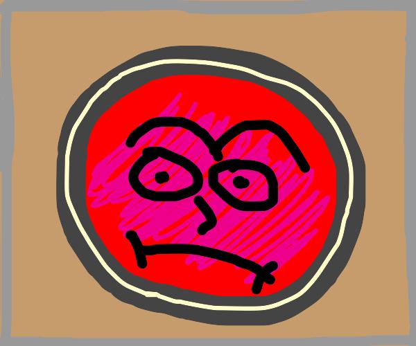 Grumpy Red Button
