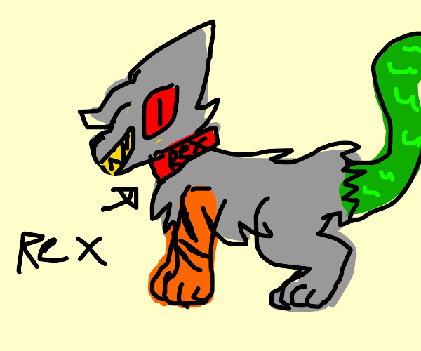 rex the pet abomination