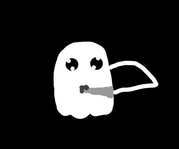 ghost stabbing self