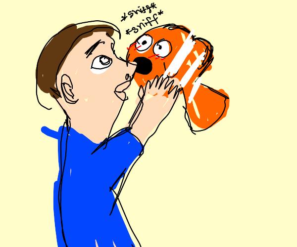 Man Sniffs Nemo