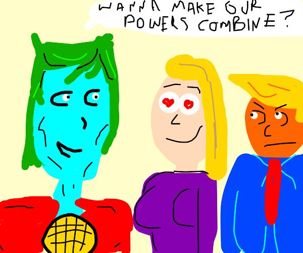 Pervy Cap. Planet hits on Ivanka Trump
