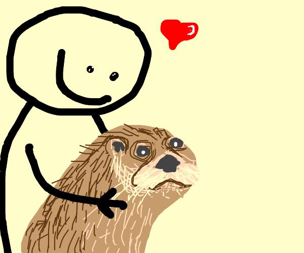 Pet Otter