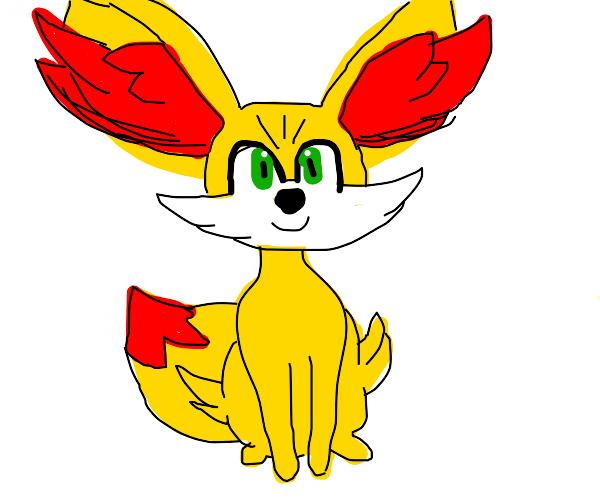 cute fox looking like pokemon but not exactly