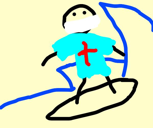 Surgeon Surfing