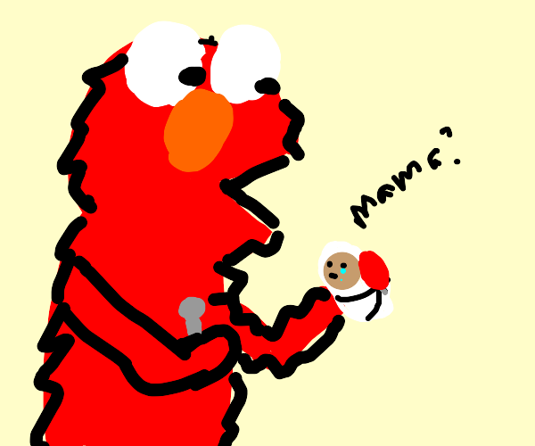 elmo eats children