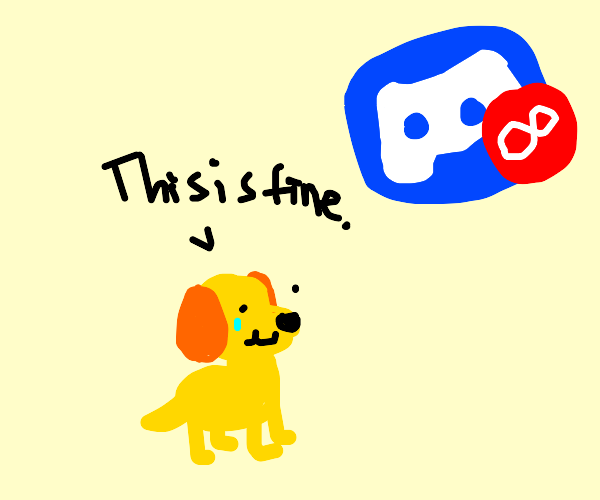 Infinite pinging destroys yellow dog