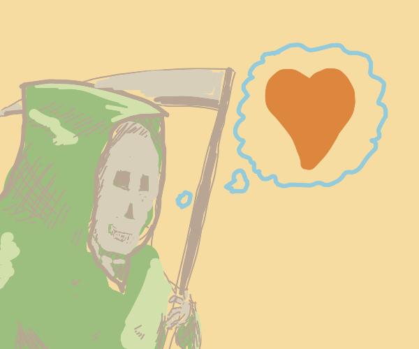 The Grim Reaper remembers love.