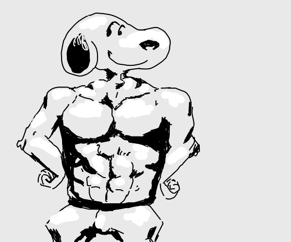 Buff Snoopy.