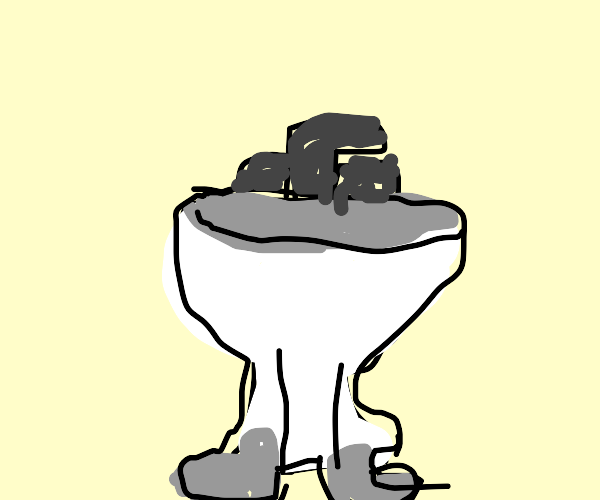 sink with feet