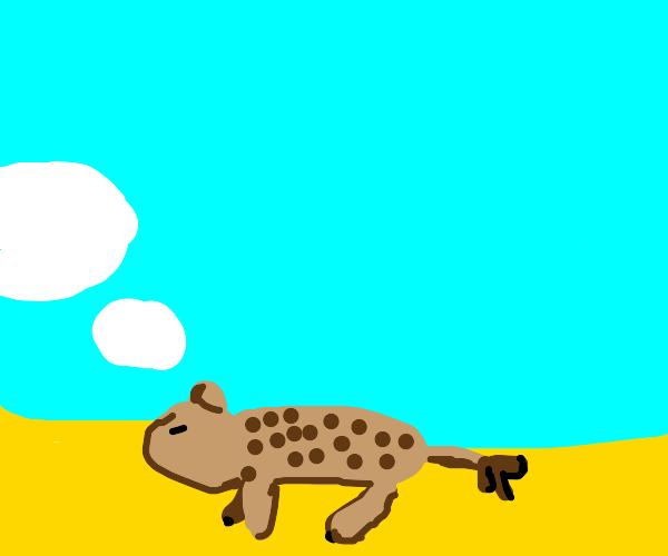 Dreamy Hyena