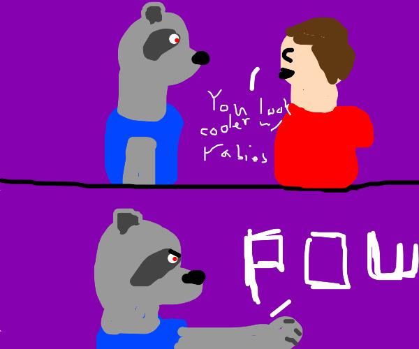 Furry eliminates those who bully him.