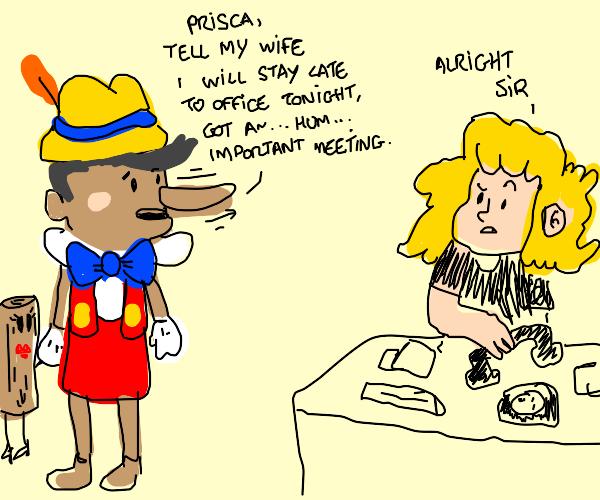 Pinocchio Secretary