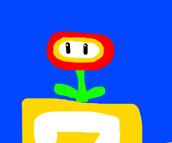 the fire flower from mario