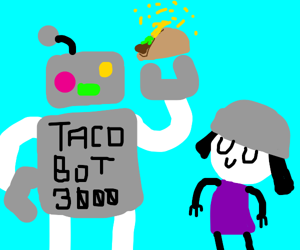Taco bot delivers tasty tacos