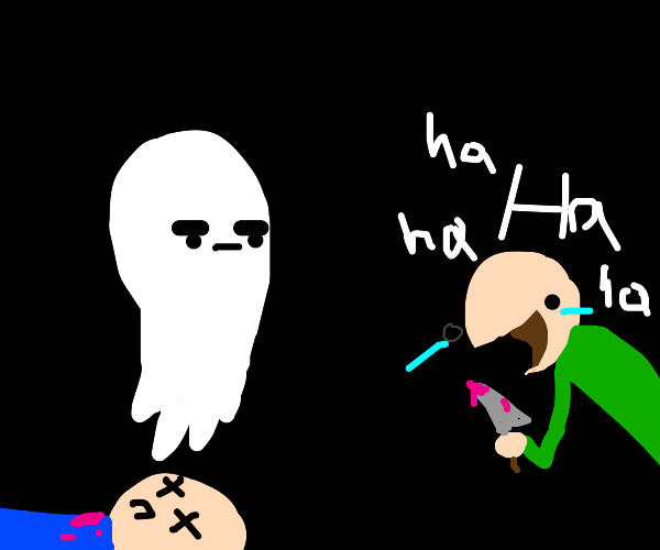 unenthusiastic ghost