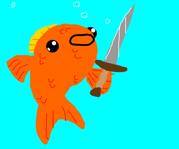 Fish With Sword