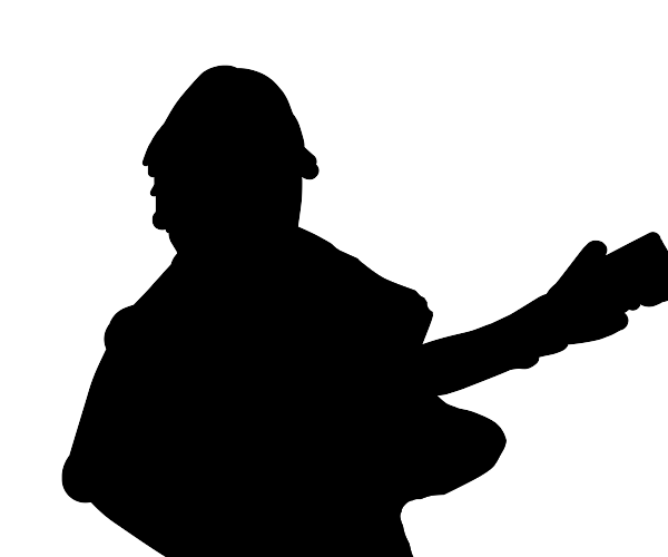 hopefully, a guitar player shadow