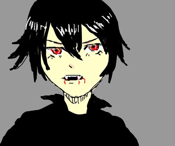 Anime vampire boy