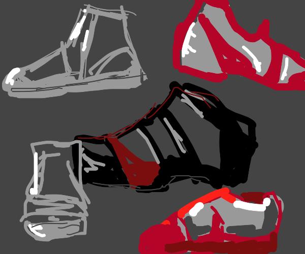 Shoe Concept Art