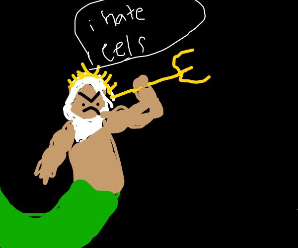 Poseidon hates eeels