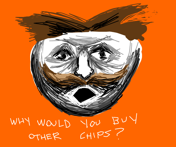 pringles cant believe u would buy other chips